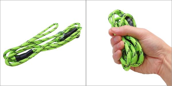 ビヨルキス レトリーバーリード(リフレクティブロープ使用) BJORKIS|小さくまとまりサブリード、緊急用にも人気|犬グッズ通HAU