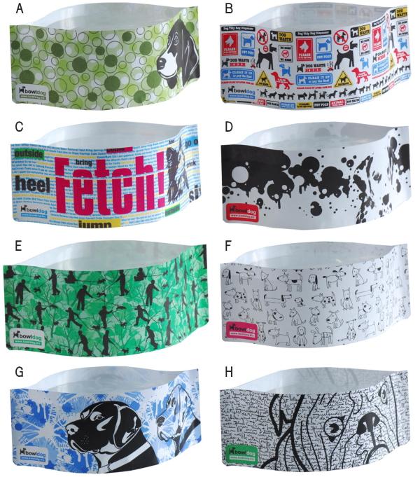 犬の携帯食器(フードボウル、ウォーターボウル)|Bowl Dog ボウルドッグ カラーバリエーション|犬グッズ通販HAU