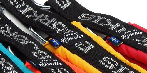 ビヨルキス ロゴハーフチョークカラー BJORKIS ビヨルキスロゴ|HAU ビヨルキス、北欧犬グッズ通販