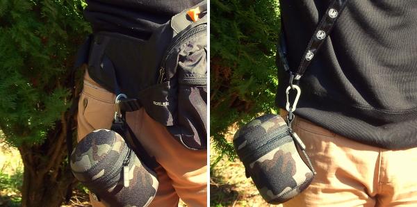 犬用マナー・ウンチ袋ポーチ|ディッキーバッグ ウエスト、ショルダーストラップで肩掛け、斜めがけ|お散歩便利犬グッズ通販 HAU