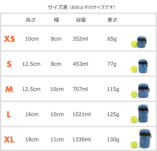 サイズ表|ディッキーバッグ 犬用使用済マナー袋・ウンチ袋ポーチ |お散歩便利犬グッズ通販 HAU