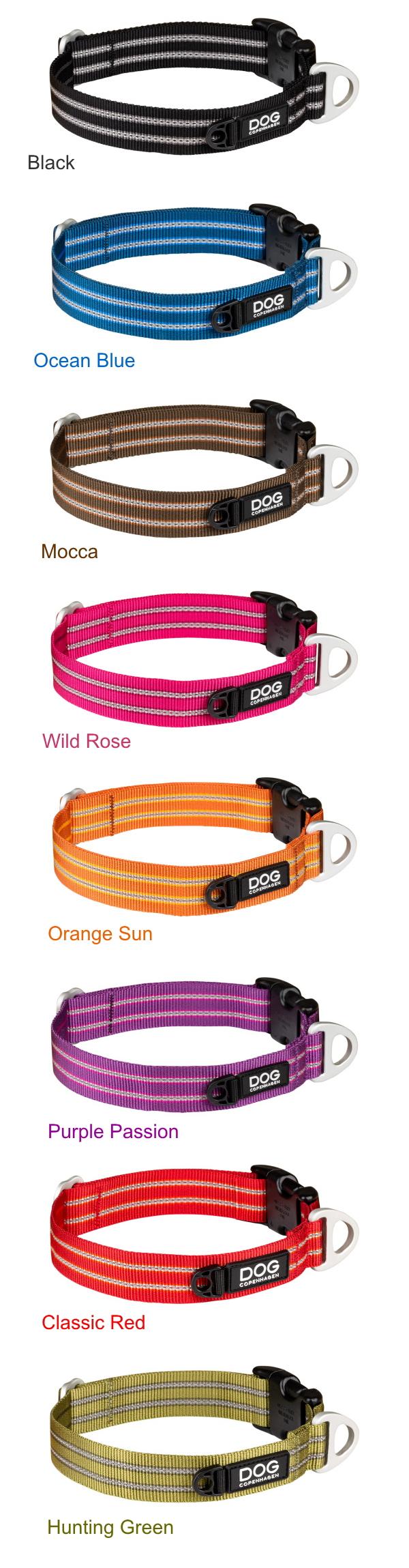 ブラック、ブルー、オレンジ、パープル、レッド、グリーン|ドッグコペンハーゲン アーバンスタイルカラー|犬グッズ通販HAU