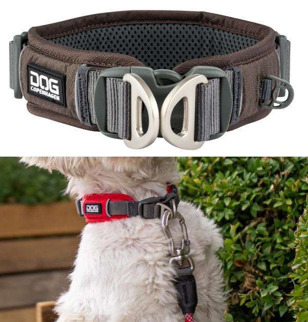 デュアルDリング、ダブルDカンで安全性が高い犬用首輪|ドッグコペンハーゲン|犬グッズ通販HAU