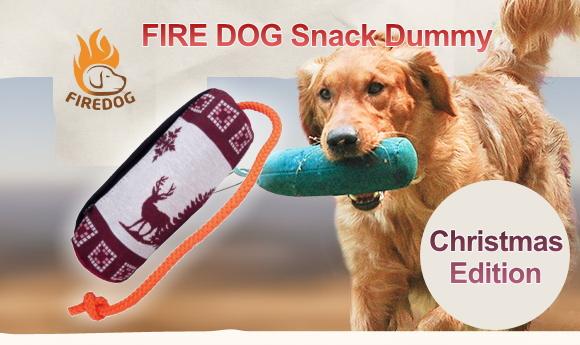 愛犬へのクリスマスプレゼントにおすすめ 犬のおもちゃ,ドッグトイ FIREDOG スナックダミー 犬グッズ通販 HAU(ハウ)