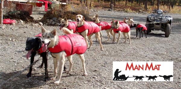 冬用犬の服/防寒用ドッグウェア|MANMAT サーモコート 犬ぞり用品メーカーマンマット|犬グッズ通販HAU