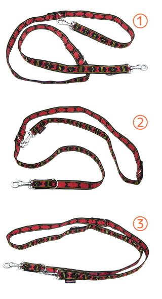たすき掛けでも使える犬用リード|MANMAT エクステンションリーシュ (犬のリード)|犬グッズ通販HAU