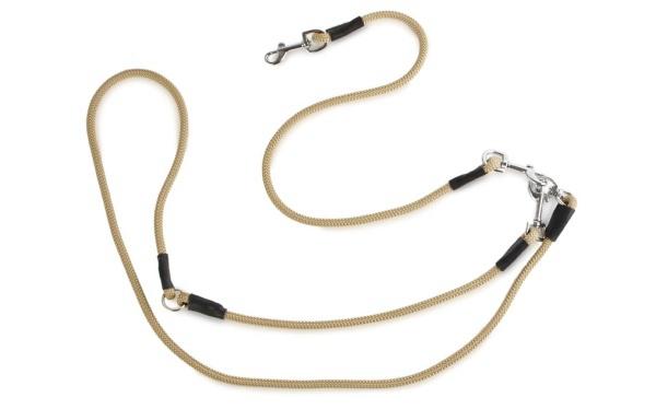 150cmロープ部分と60cmの両端にナスカン(連結パーツ)|FIREDOG ハンティングリーシュ|犬用品犬グッズ通販HAU