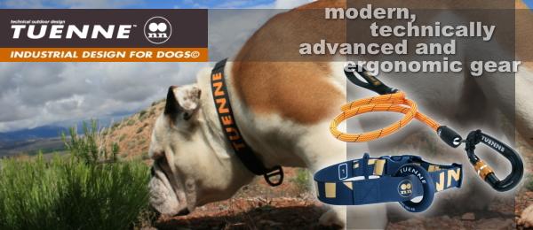 中型犬・大型犬用アウトドア犬具ブランド|TUENNE (2N) ツーエヌ|外れないロック付き犬用リード、防水首輪