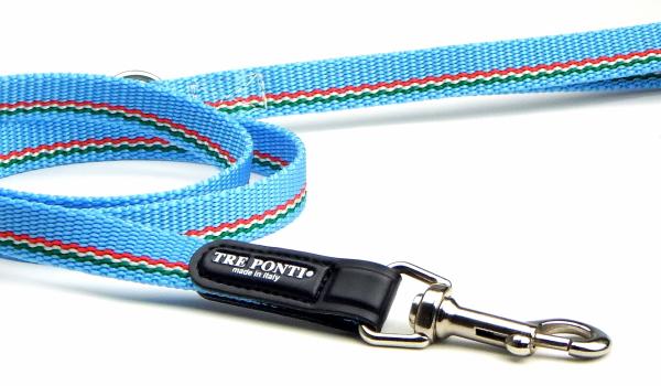 小型犬・超小型犬用リード|トレ・ポンティ ナイロンポリエステルテープリード - Tre Ponti|犬グッズ通販HAU