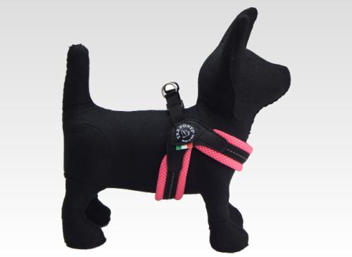 トレポンティ ソフトメッシュ|脚を上げずに簡単に着脱できる小型犬用ハーネス