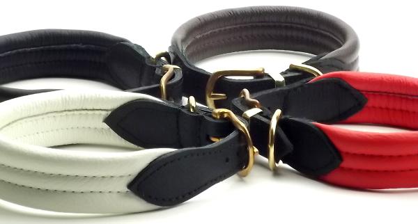 おしゃれでおすすめの革製犬用首輪|ソフトレザーカラー (革製犬用首輪)/ポーランド製|犬グッズ通販HAU